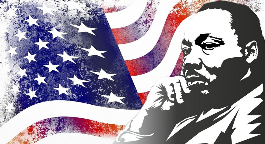 Martin Luther King , un personnage historique.